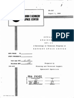 Apollo Spacecraft BP-15 a Chronology of Technical Progress at Kennedy Space Center