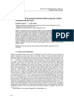 Importance of Transmission Electron Microscopy for Carbon Nano Materials Research--Prakash R. Somani