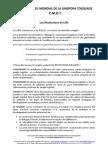 Resolutions de Lille 2011
