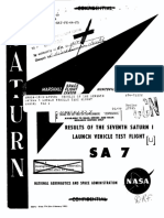 Results of the Seventh Saturn I Launch Vehicle Test Flight SA-7