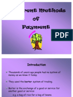 Different Methods of Payment PPP