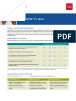 Wells Fargo Risk Tolerance Quiz