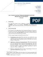 CMT&D - Incoterms 2010 and Their Interpretation by Brazilian Authorities