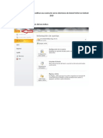 Manual Para Configurar Correo Dental Perfect en Oultook 2010