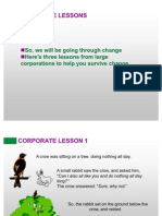 Corporate Lessons, Must Read