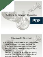 Sistema de Frenos y Dirección