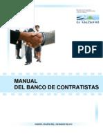 Manual Banco de Contratistas 2010