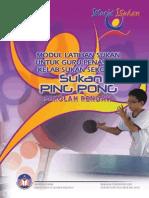 pingpong sr Modul Latihan Sukan untuk Guru Penasihat Kelab Sukan Sekolah