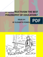 Is Constructivism the Best Philosophy of Education