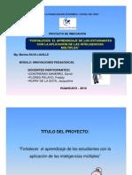 Proyecto de Innovacion y Piaget