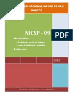 Trabajo de NICSP 09