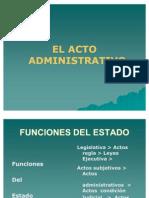 El Acto Administrativo 24 de Junio 2011,