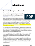 Renewable Energy at a Crossroads - Booz Allen