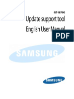 Device Update Support Tool Manual