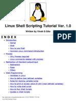 (eBook) Linux Shell Scripting Tutorial