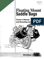 1978 Honda CB750F Bags