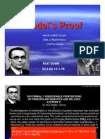 Godel Proof