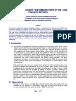 Reliability Measures for Commutators of Hs-15250 Traction Motors(3)