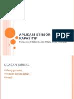 Aplikasi Sensor Kapasitif