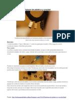 Bisuteria Crochet y Plastico