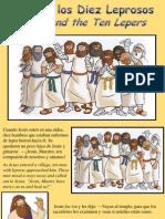 Jesús y los Diez Leprosos - Jesus and the Ten Lepers
