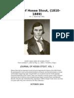 Diary of Hosea Stout 1844-1846
