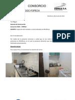 Inspección a cocina