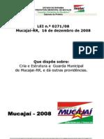 Lei 271 08 Guarda Municipal