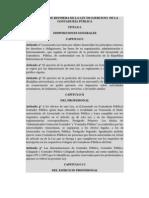 PROYECTO DE REFORMA DE LA LEY DE EJERCICIO  DE LA CONTADURÍA PÚBLICA