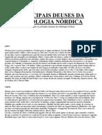 PRINCIPAIS DEUSES DA MITOLOGIA NÓRDICA