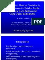 Digital Patella Height Measure