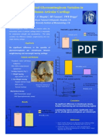 Glycosaminoglycan Variation in Human Articular Cartilage