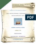 PARTES INTERNAS Y FUNCIONAMIENTO DE DISCOS DUROS IDE Y SATA