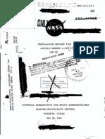 Post Launch Report for Apollo Mission A-001