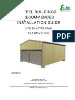 1 NEW Aust a Garage Instruction Book TILT