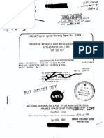 Program Apollo Flight Mission Directive Apollo Mission A-003 (BP-22)