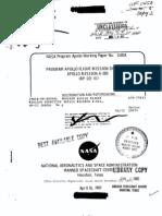 Program Apollo Flight Mission Directive Apollo Mission A-003 (BP-22)