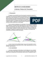 Geometría de mecanismos