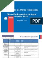Situación Proyectos de Agua Potable Rural