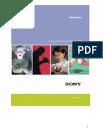 Sony Sonaps RFQ Response
