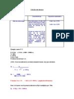 Cálculo relé térmico