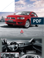 Lancer EX GLX,GLS & MX Brochure