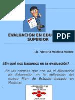 EVALUACIÓN EN EDUCACIÓN SUPERIOR