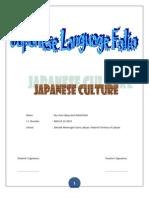 Folio Jepun Culture