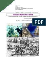 1. Europa y el mundo en el siglos XV y XVI.Síntesis del siglo. 2011