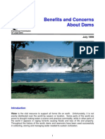 Benefits of and Concerns About Dams