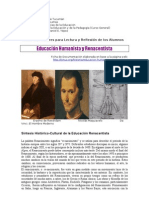 9. Educación Humanista y Renacentista. 2011