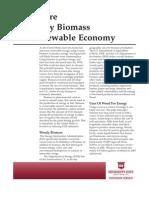 Future of Woody Biomass