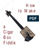 How to Make a Cigar Box Fiddle