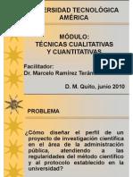 (2) Módulo Técnicas cualitativas y cuantitativas